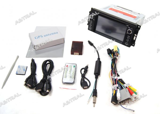 6 CD Virtual Central Multimidia GPS Jeep Compass Grand Cherokee Wrangler GPS Odtwarzacz DVD