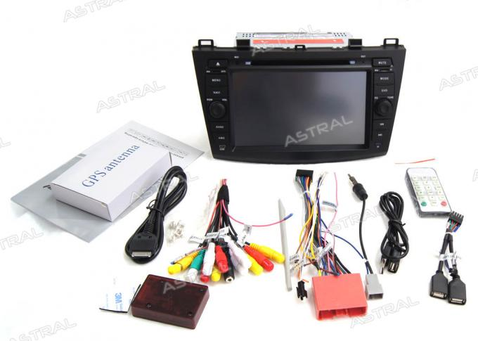 Mazda 3 Android Car Multimedia Navigation System DVD Player Backup Camera Input SWC