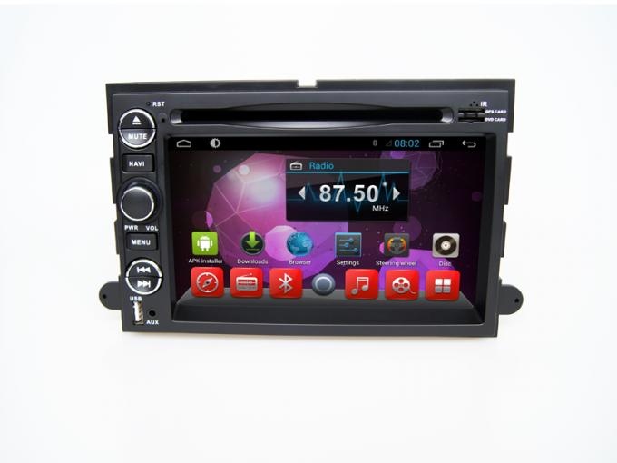 Ford Explorer Dvd Navigation System For Car , Audio Stero Wifi Bt Tv