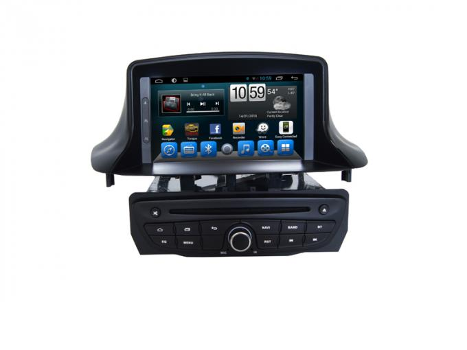 2din GPS Car Navigation System DVD Audio Stereo Touch Screen For  Megane