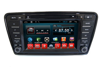 Chiny Android Car Dvd MP3 MP4 Player VW GPS Navigation System Skoda Octavia A7 Car dostawca