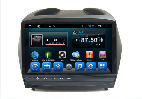 Chiny Android 4.4 Quad Core Car Dvd Stereo Player  IX35 2012 Vehicle GPS System dostawca