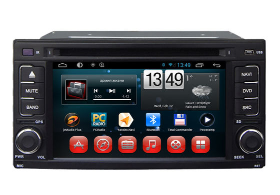 Chiny Android 6.0 System Double Din Car Dvd Player Subaru Impreza / Forester 2008 2010 dostawca