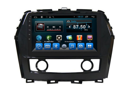 Double Din Car Stereo Bluetooth Android Car Navigation System Nissan Cima
