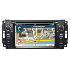 6.2 Inch Touch Screen Car Radio Dvd Player / Dvd Gps Navigation System For Jeep