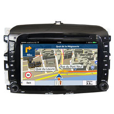 Chiny Double Din FIAT Navigation System High Resolution With Capacitive Touch Panel dostawca