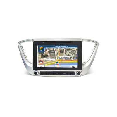 Chiny Hyundai Verna 2017 Car Stereo Hyundai Dvd Player In Dash Entertainment System dostawca