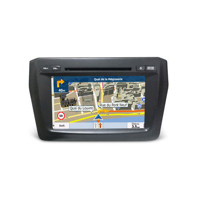Chiny Double Din Car Video / Car Monitor Suzuki Navigation System Dvd Player Swift 2017 dostawca