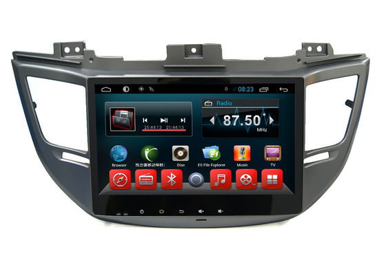 Chiny HD 1024*600 Touch Hyundai Dvd Player , Tucsonix35 2016 In Dash Car Stereon Radio Gps dostawca