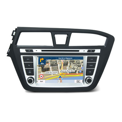 Chiny Hyundai i20 2013 left car in dash gps radio navigation android Octa Core 7.1 RAM 2GB Flash Memory 32GB dostawca
