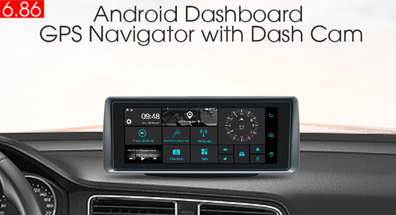 SD 3G In Dash Navigation GPS Tracker Z radioodtwarzaczem FM WiFi z tyłu Bluetooth