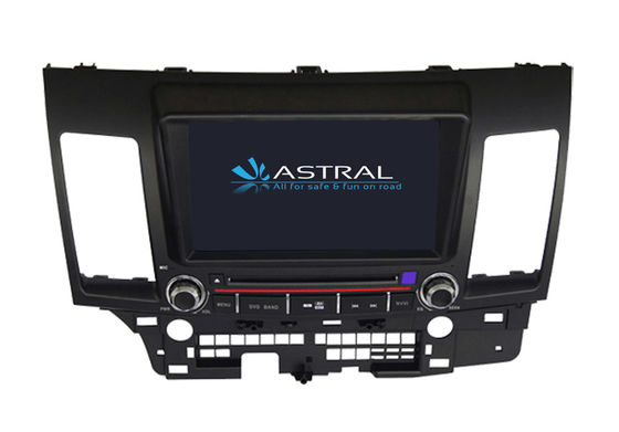 Chiny Double Din In Dash GPS Lancer EX MITSUBISHI Navigator Bluetooth TV SWC Rockford Fosgate dostawca