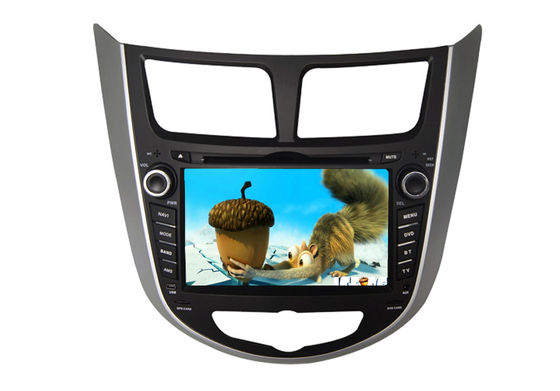Double Din HYUNDAI Odtwarzacz DVD Verna Accent Solaris TV BT Touch Screen