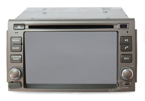 6.2 Inch Digital Display HYUNDAI DVD Player for with Radio GPS for Azera 05-11