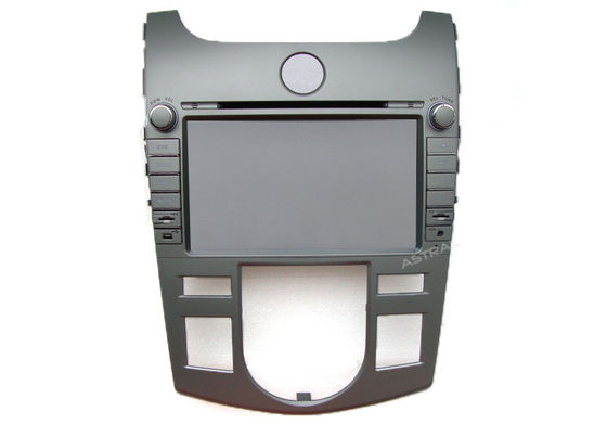 Chiny Double Din Special KIA DVD Player for Cerato Forte Air-Conditioner version 2008-12 dostawca