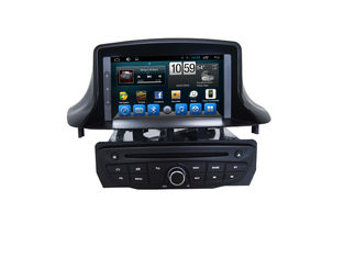 Chiny 2din GPS Car Navigation System DVD Audio Stereo Touch Screen For  Megane dostawca