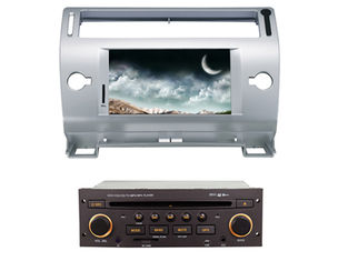 2 din car dvd player with bluetooth wifi gps citroen c4 old c-quatre c-triumph
