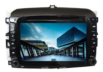 Chiny Car radio in car audio gps dvd navigation system with screen sat nav for fiat 500 dostawca