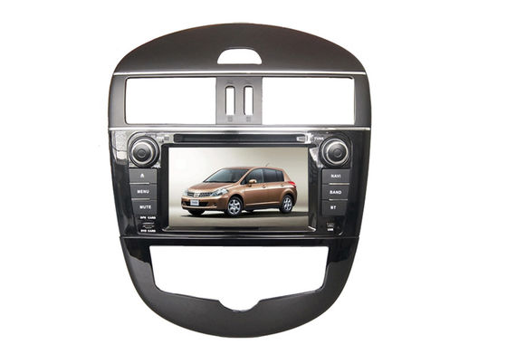 Chiny Double din car dvd player with radio wifi touchscreen for nissan tidda dostawca