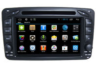 Chiny 2 Din Car Radio Player Mercedes GPS Search Navigation Benz W209 fabryka