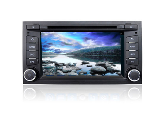 Chiny 2 Din Car DVD Volkswagen GPS Navigation System Quad Core Android For Seat Leon fabryka