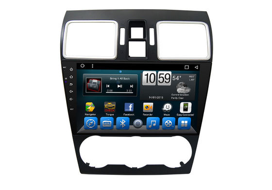 Double Din Mirror Link Android Car Navigation Entertainment System Subaru XV 2015 2016