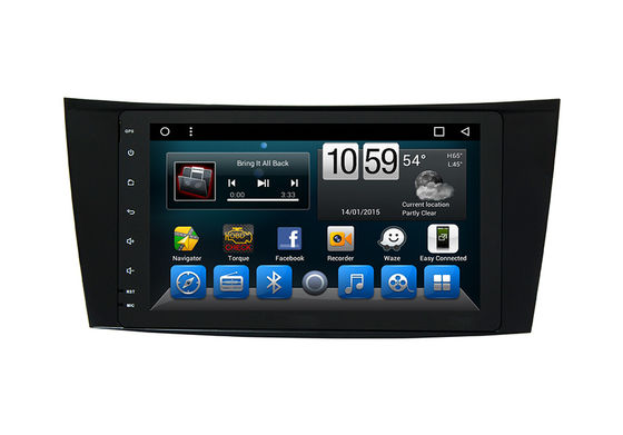 Octa Core Mercedes Car Multimedia System Android , Vehicle Navigation System Benz E-Class