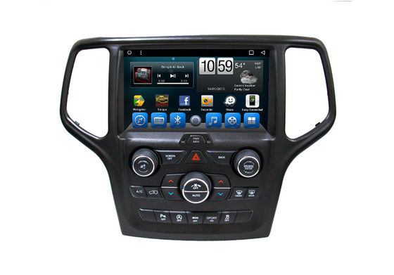 Auto Car GPS System nawigacji 9 cali Smart Touch Screen Jeep Grand Cherokee