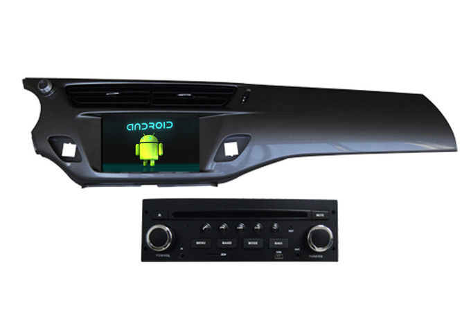 C3 DS3 2013 2014 Citroen DVD Player With Android 4.4 Quad Core 1.6GHz CPU
