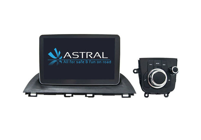 Radio Bluetooth In Dash Double Din Multimedia Navigation System Mazda 3 2014-2017
