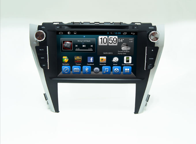 In Dash Car Music Player TOYOTA GPS Navigation With Bluetooth Camry 2015